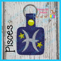 Pisces Astrology Sign Snap Tab