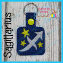 Sagittarius Astrology Sign Snap Tab