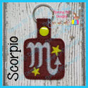 Scorpio Astrology Sign Snap Tab