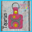 Taurus Astrology Sign Snap Tab