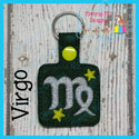 Virgo Astrology Sign Snap Tab