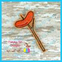 Hot Dog On A Stick Feltie