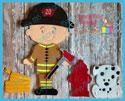 Firefighter Set 5x7