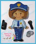 Police Set 5x7
