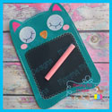 Owl ITH Chalkboard/Dry Erase Board