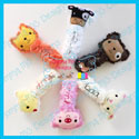 Farm Animal Rattle Softie Bundle