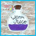 Worm Juice Feltie