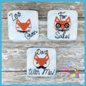 Fox Pun Feltie Bundle