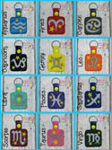 Astrology Sign Snap Tab Bundle